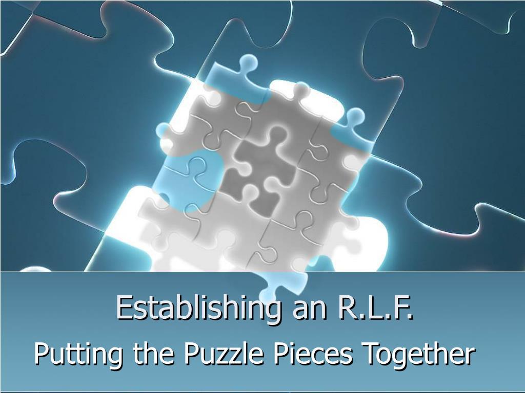 establishing an r l f