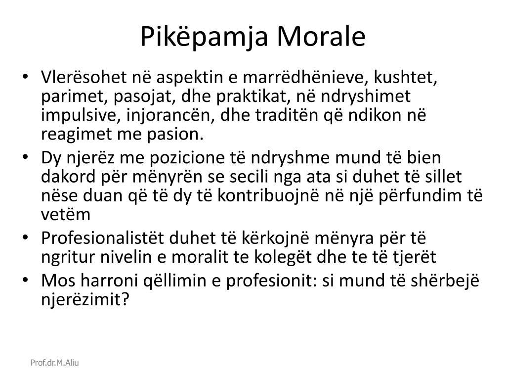 Pikëpamja Morale