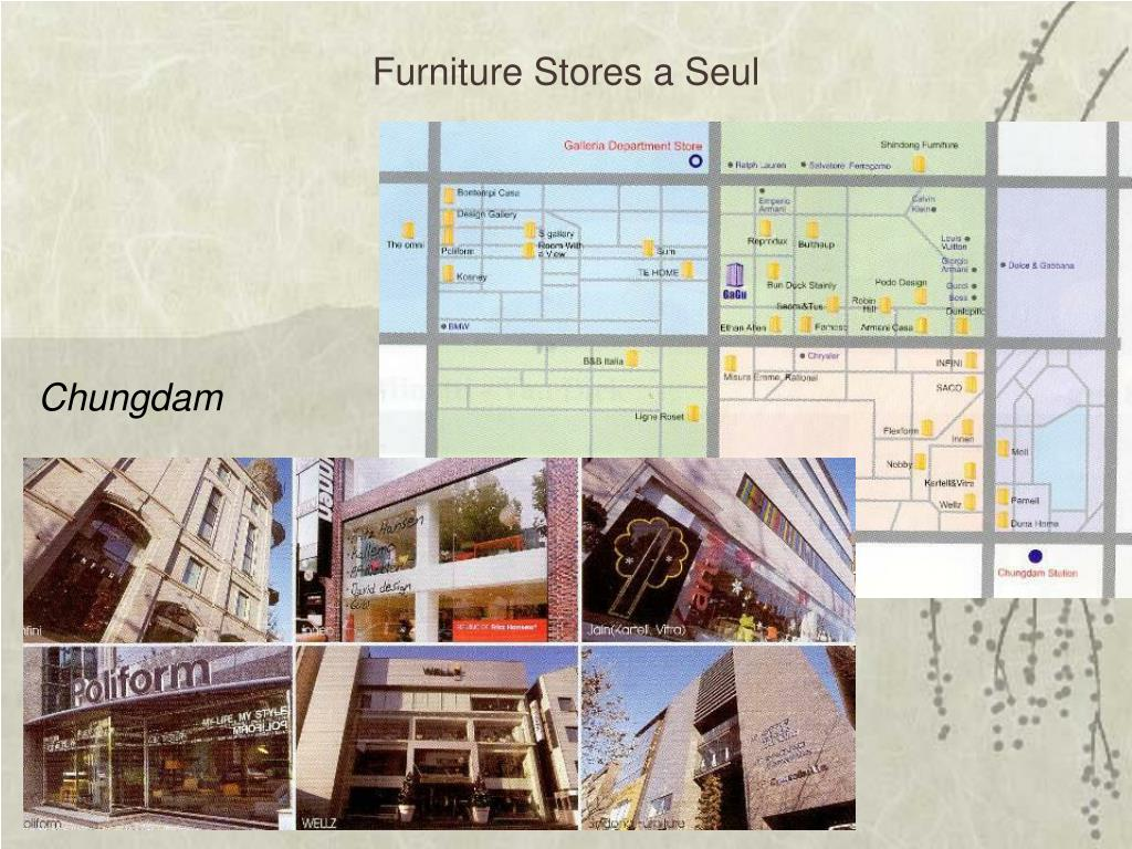 Furniture Stores a Seul