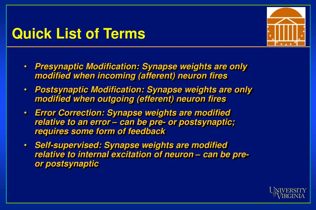Quick List of Terms