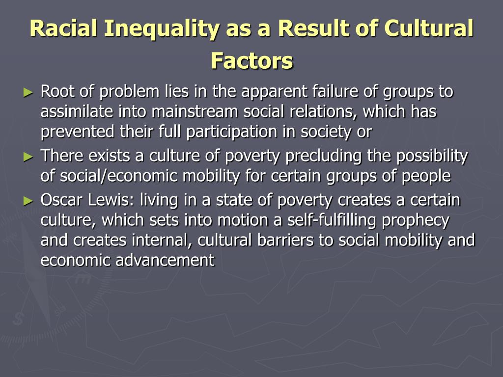 oscar lewis popularization of the culture of poverty and its impact Cultural diversity and anti-poverty policy miche`le lamont and mario luis small the causal impact of culture on poverty but also that of poverty on culture theory in this vein was oscar lewis' (1959, 1969) notion of the culture of.