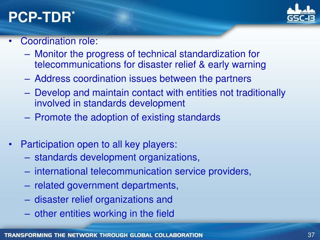 PCP-TDR