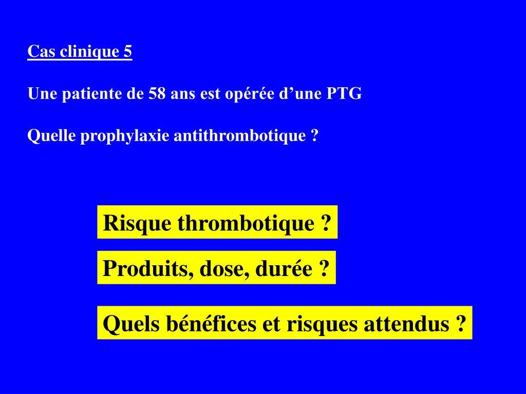 Cas clinique 5
