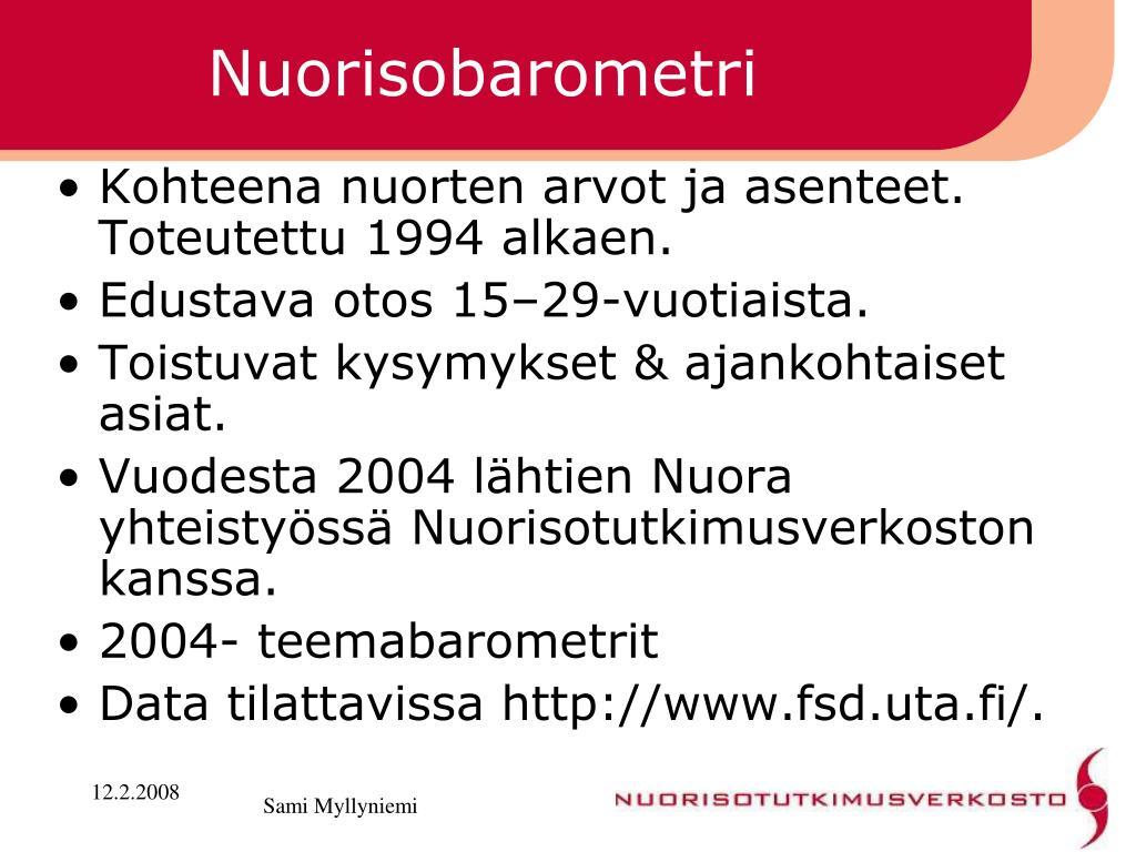 Nuorisobarometri