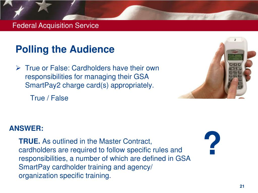 Polling the Audience