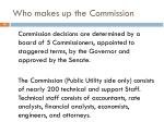 who makes up the commission