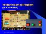 veiligheidsmaatregelen de hv softstart71