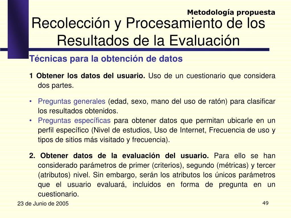 Metodología propuesta