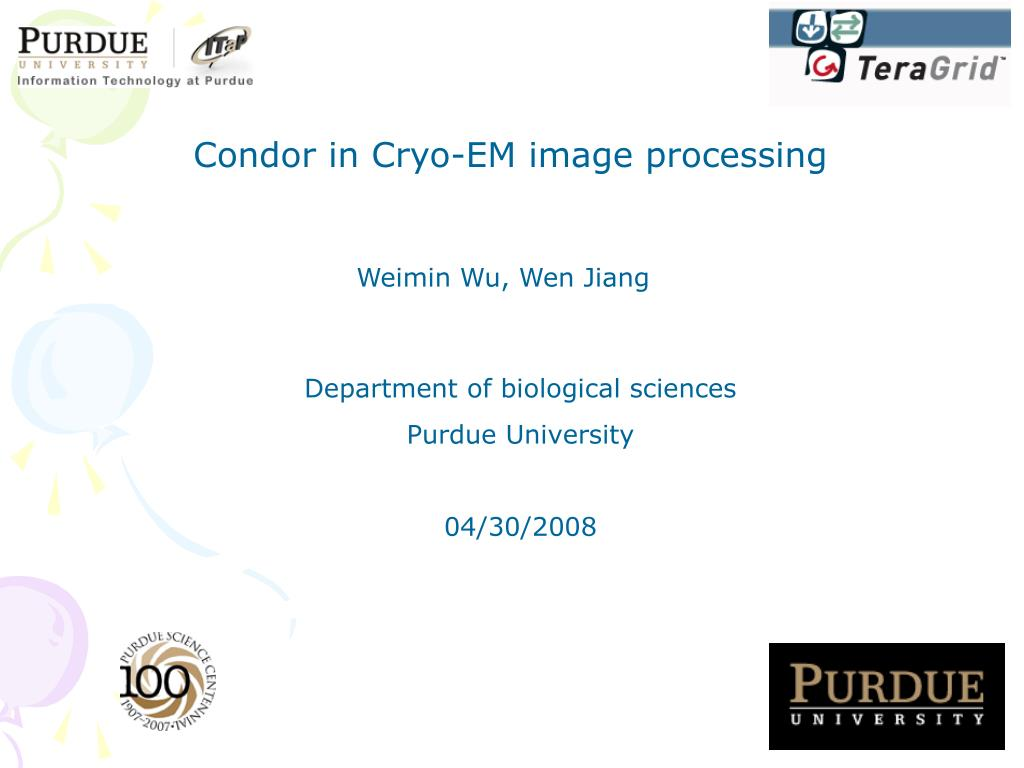 Condor in Cryo-EM image processing