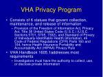 vha privacy program
