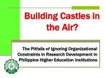 building castles in the air
