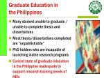 graduate education in the philippines36