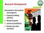 research development4