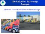 idle reduction technology example