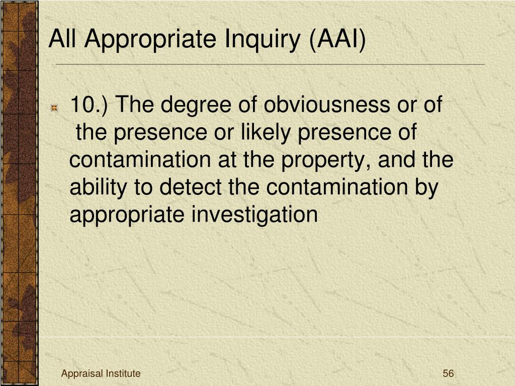 10.) The degree of obviousness or of