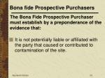 bona fide prospective purchasers23