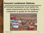 innocent landowner defense33