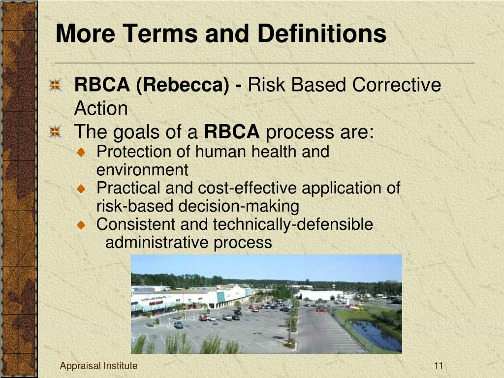 RBCA (Rebecca) -
