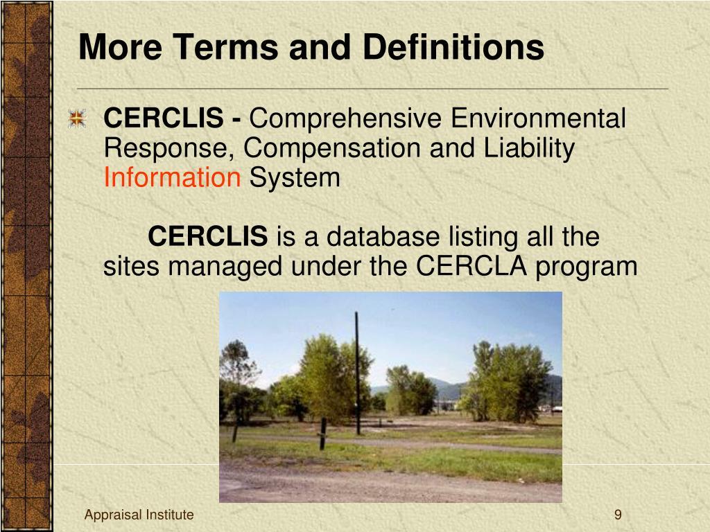 CERCLIS -