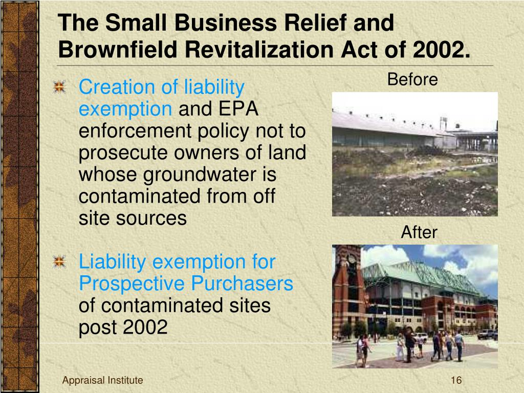 Creation of liability exemption