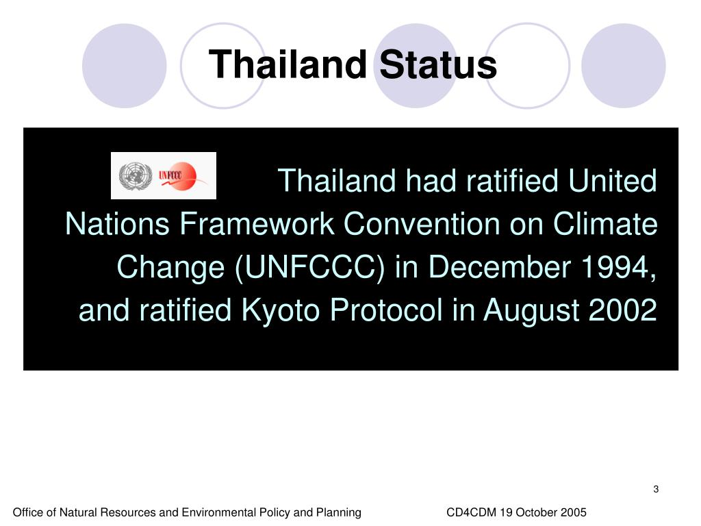 Thailand Status