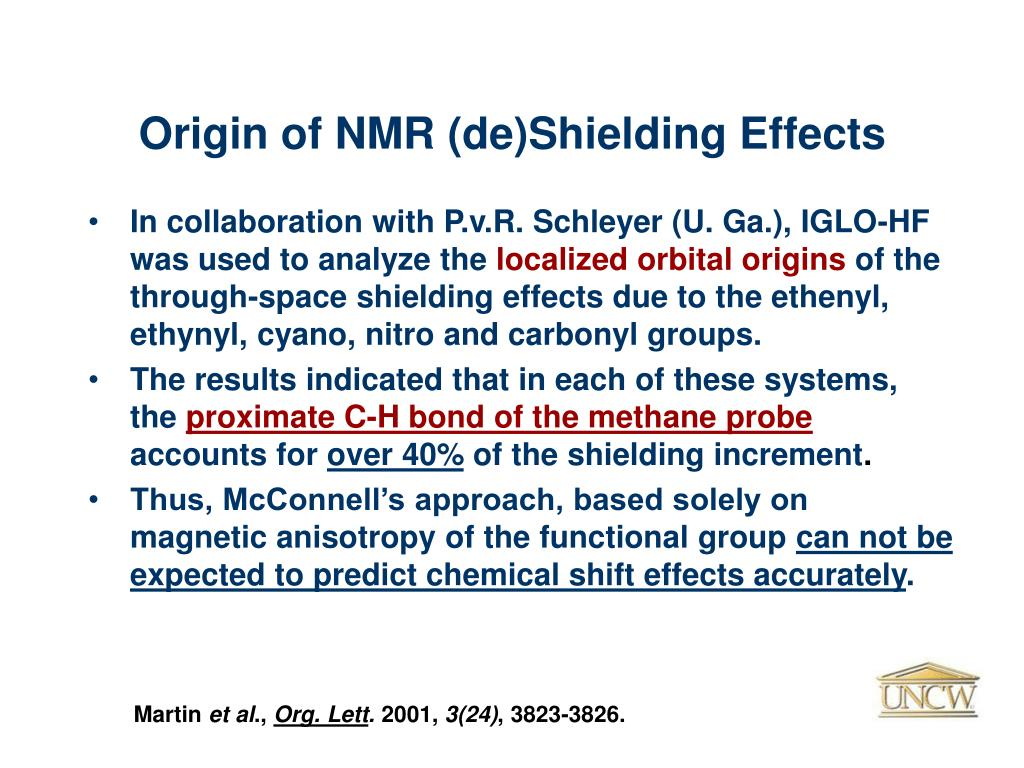 Origin of NMR (de)Shielding Effects