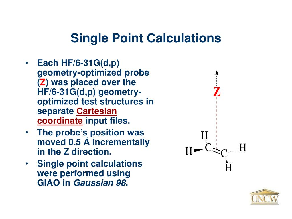 Single Point Calculations