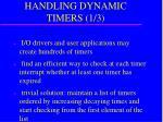 handling dynamic timers 1 3