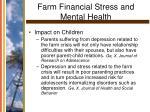 farm financial stress and mental health13