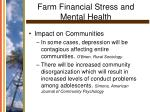 farm financial stress and mental health14