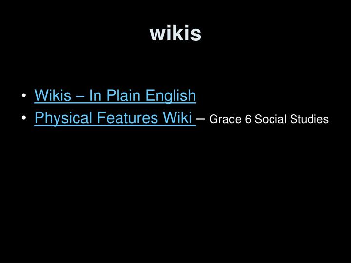 Wikis3