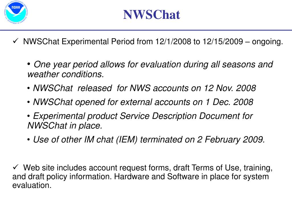 NWSChat