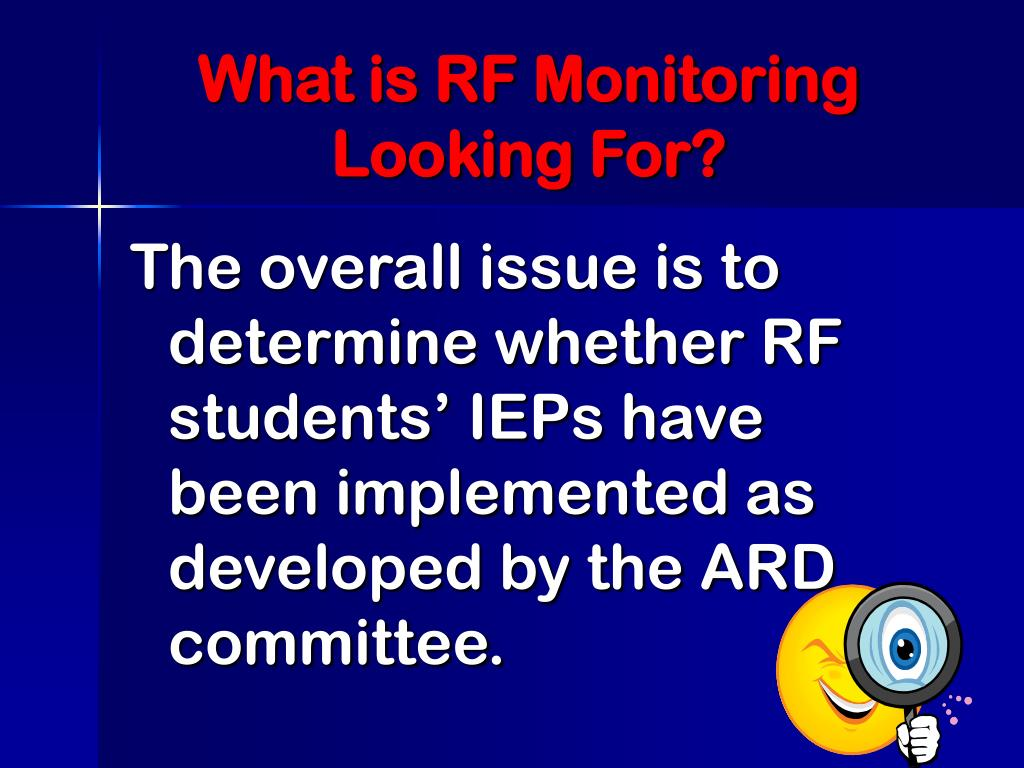 What is RF Monitoring Looking For?