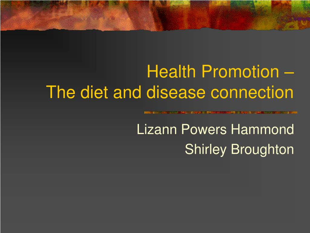 Health Promotion –