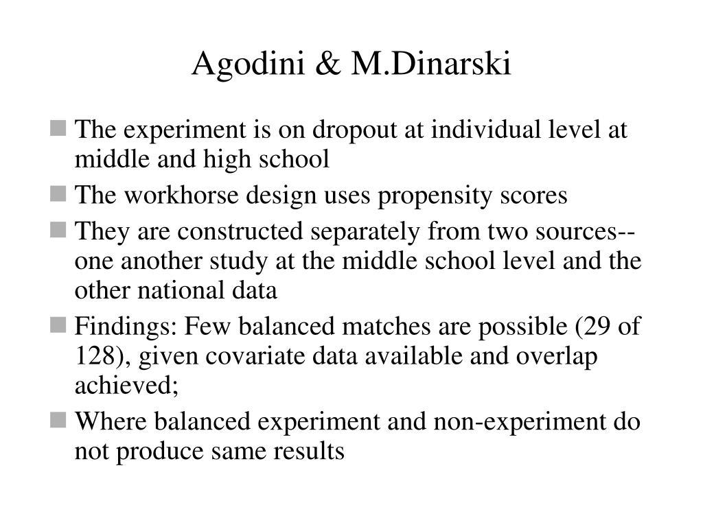 Agodini & M.Dinarski