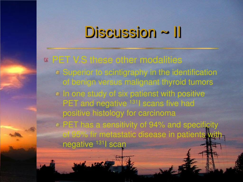 Discussion ~ II