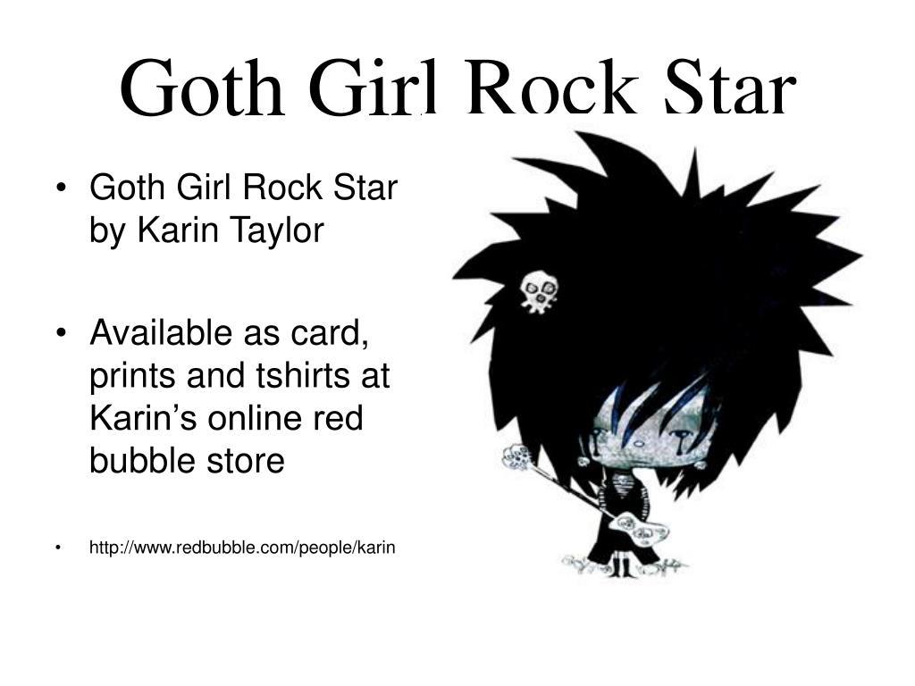 Goth Girl Rock Star