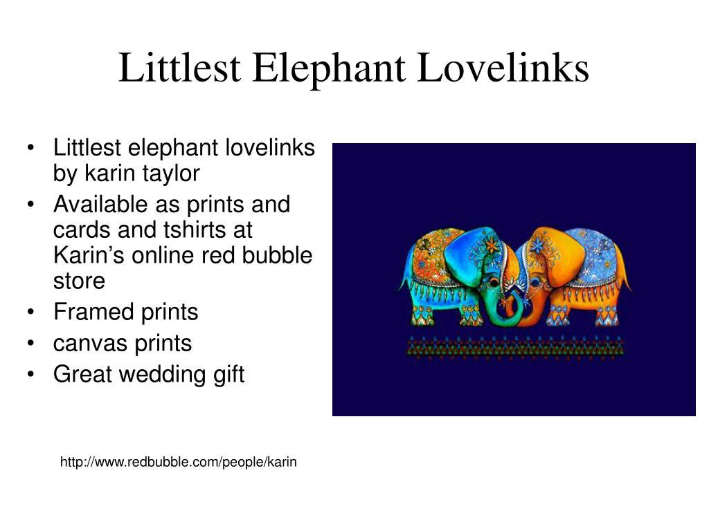 Littlest Elephant Lovelinks