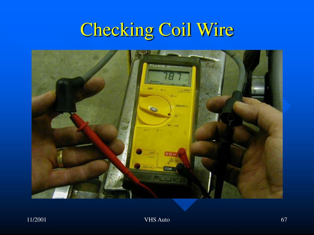 Checking Coil Wire