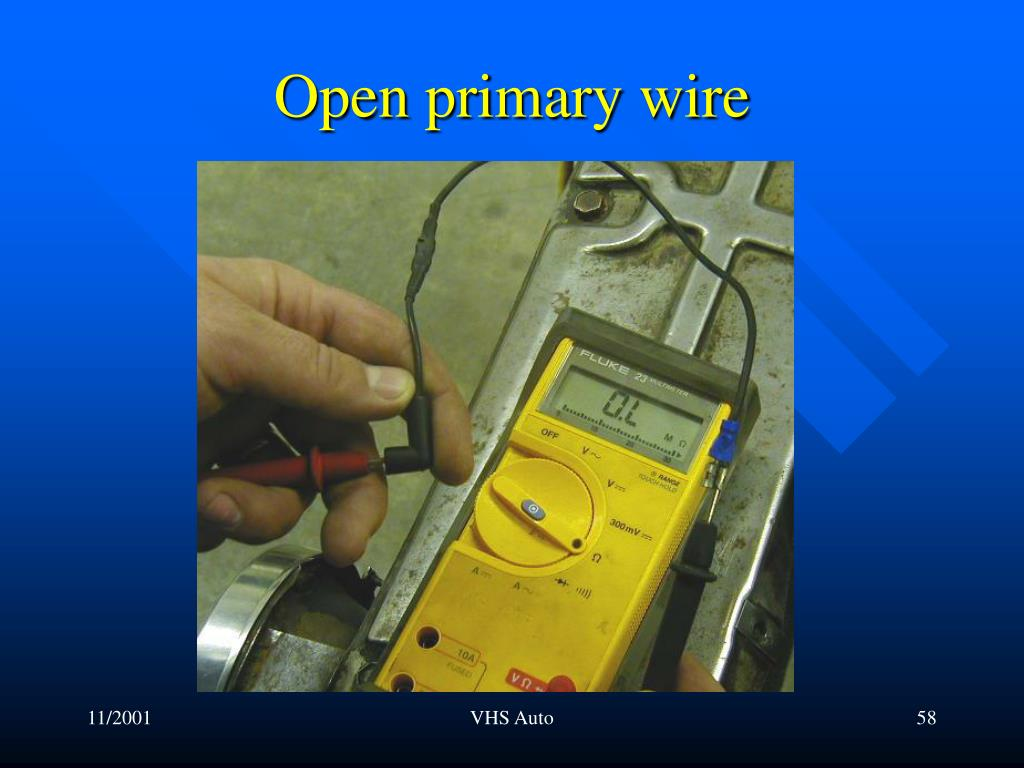 Open primary wire