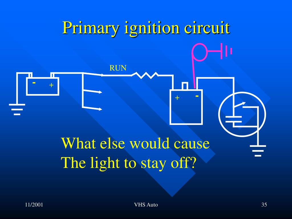 Primary ignition circuit