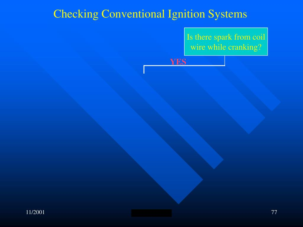 Checking Conventional Ignition Systems