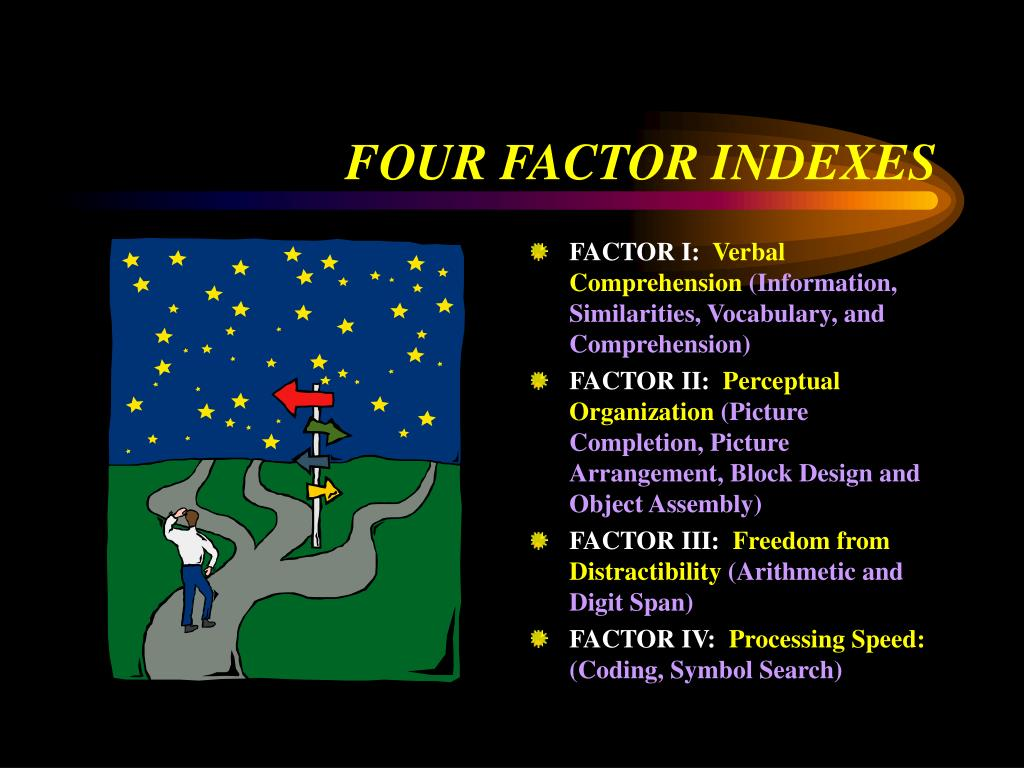 FOUR FACTOR INDEXES