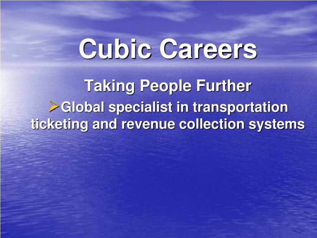 Cubic Careers