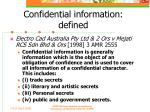 confidential information defined