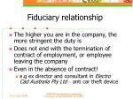 fiduciary relationship38