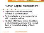human capital management43