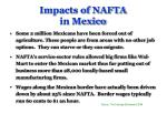 impacts of nafta in mexico