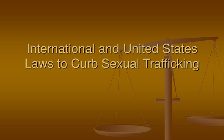 French laws on sex trafficking