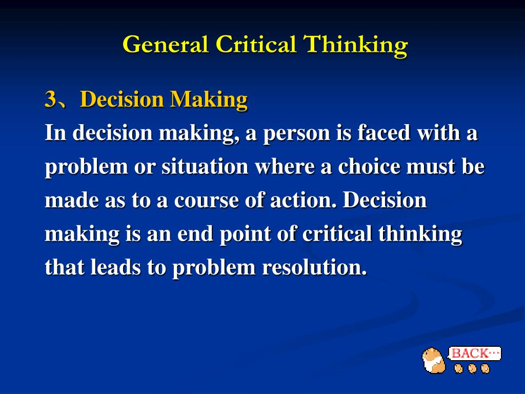clinical decision making and end of Clinical decision-making at the end of life introduction • this guideline is intended to help health practitioners plan a patient's care in a way that is consistent with the realities of their situation and, as far as possible, meet their needs and wishes • where cure is no longer realistic, the aim is to achieve the.